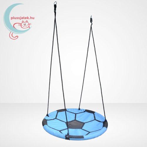 Wonderland foci mintázatú fészekhinta, kék - 100 cm