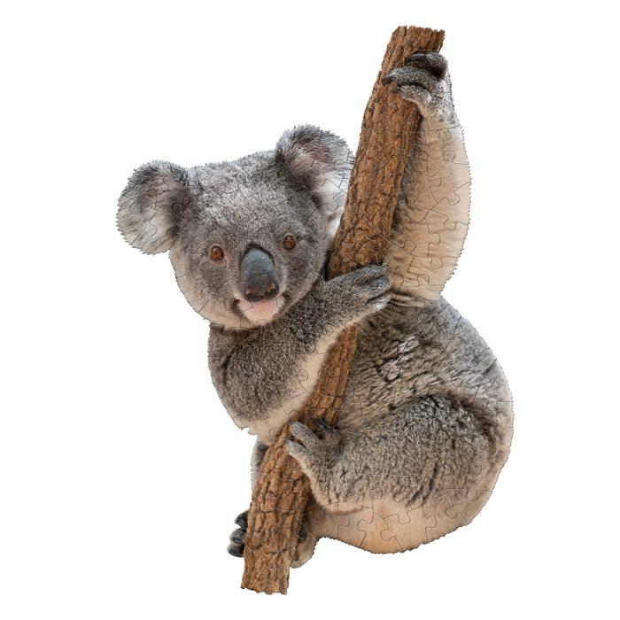 Wow poszter méretű forma puzzle - Koala, 100 db, a kép kirakva