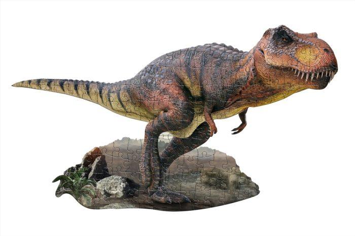 Wow poszter méretű forma puzzle - T-Rex, 100 db, a kép