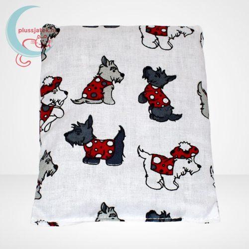 Babzsák - Westie kutya mintás (12 x 15 cm)