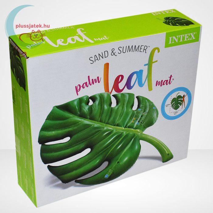 Intex pálmalevél alakú felfújható matrac (206x132 cm) [58782 Palm Leaf]