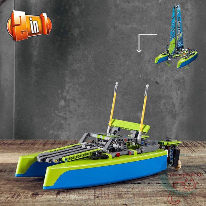 LEGO Technic 42105 - Katamarán, 2 az egyben (2 in 1)