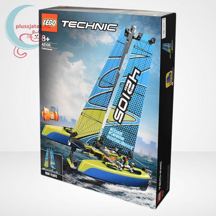 LEGO Technic 42105 - Katamarán, balról