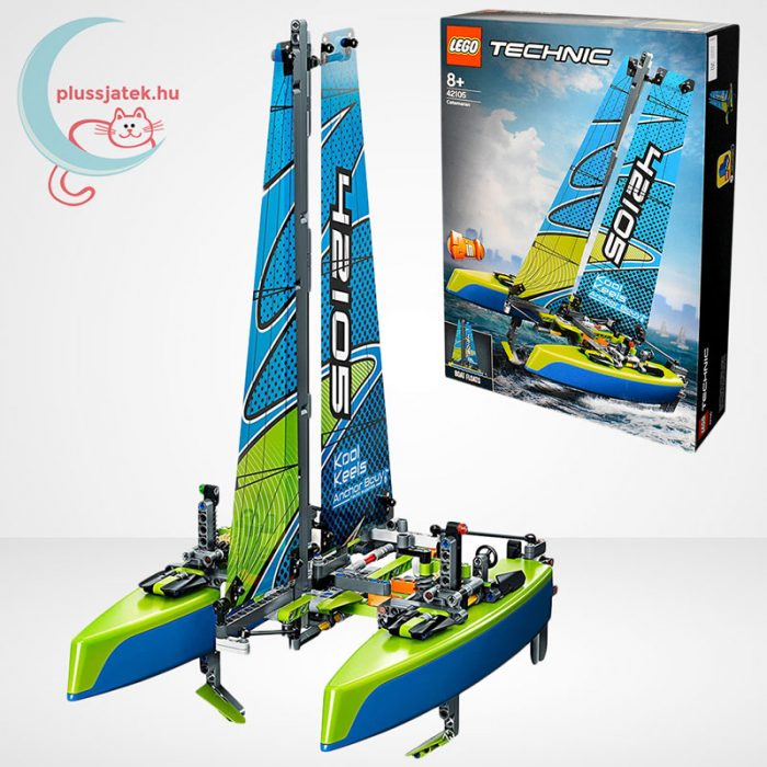 LEGO Technic 42105 - Katamarán, a doboz és tartalma