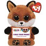 TY Peek-a-Boos: Sly, a barna plüss telefontartó róka
