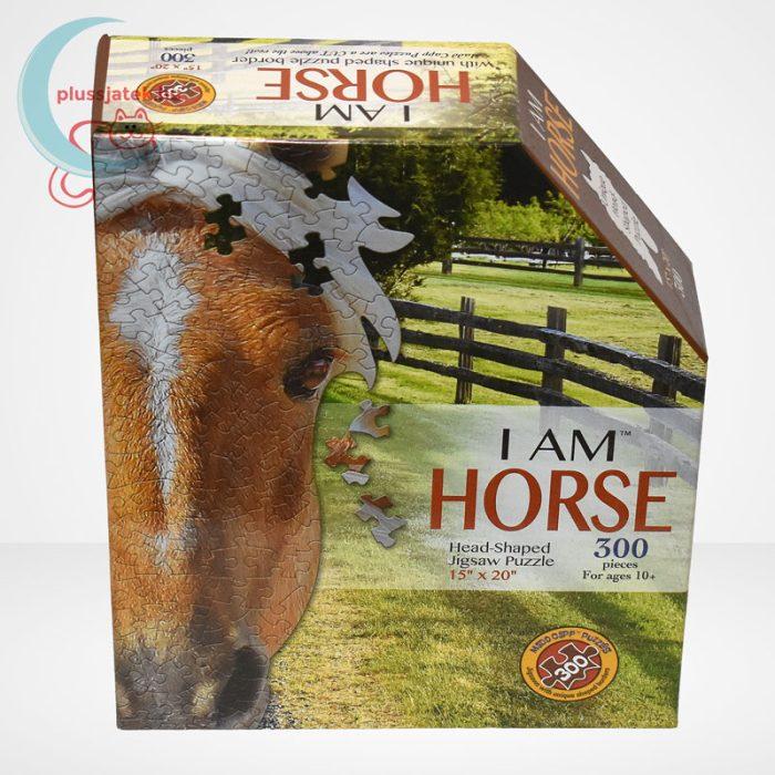 Wow poszter méretű forma puzzle – Ló, 300 db, a doboz szemből