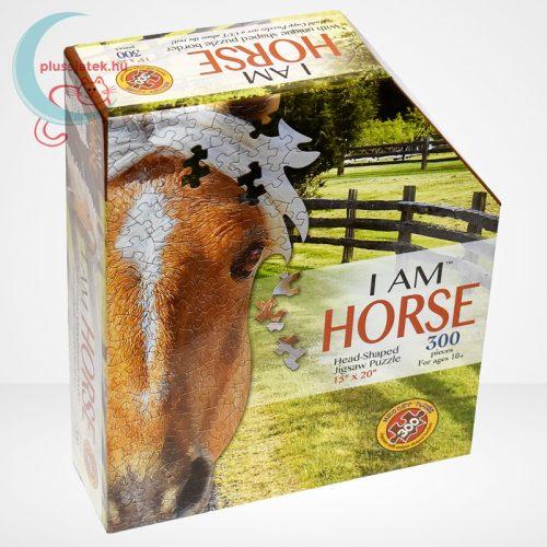 Wow poszter méretű forma puzzle – Ló, 300 db, a doboz jobbról