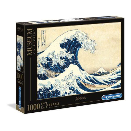 Museum Collection: Kacusika Hokuszai – A nagy hullám 1000 db-os puzzle – Clementoni (39378)