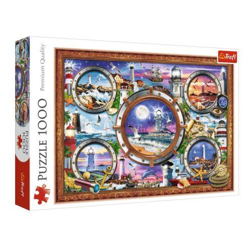 Világítótornyok 1000 db-os puzzle (Lighthouses, Trefl 10584)