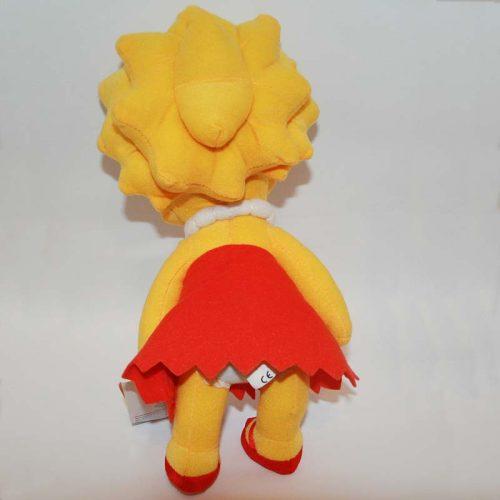 30 cm-es Lisa (Simpson család) plüss hátulról