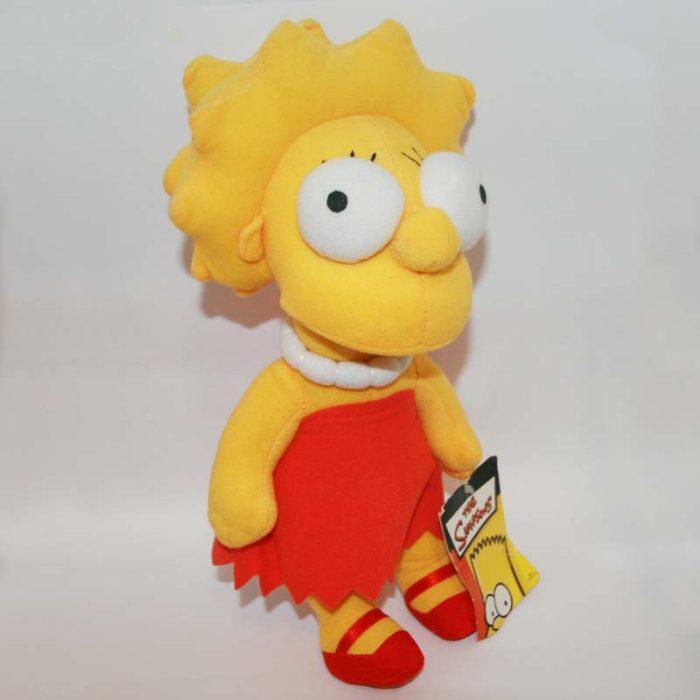 30 cm-es Lisa (Simpson család) plüss jobbról