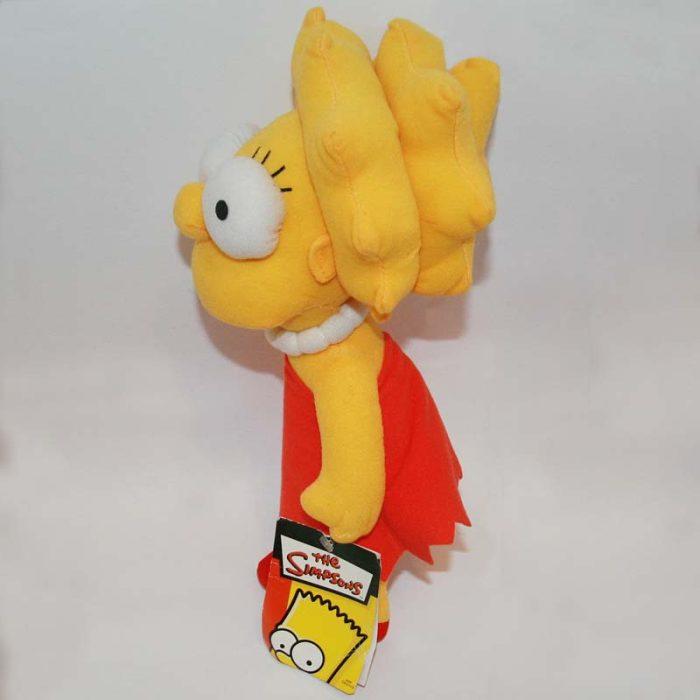 30 cm-es Lisa (Simpson család) plüss balról