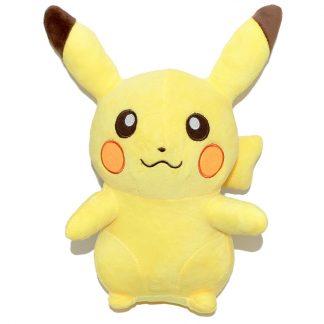 32 cm-es óriási plüss Pikachu Pokémon szemből
