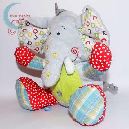 Tiamo ABC elefánt plüss babáknak balról