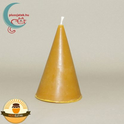 BELLA kúp alakú méhviasz gyertya