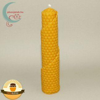 BELLA nagy csavart méhviasz gyertya