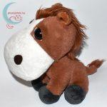 Big Headz nagyfejű plüss ló (Cukifejek lovacska) balról