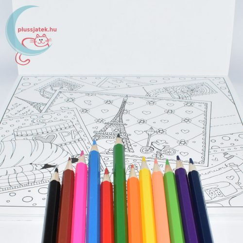 Dream Journey 30 képes felnőtt színező, kifestő tömb minta
