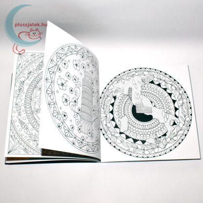 Dream Journey 68 képes felnőtt kifestő, színező könyv - alakzatok