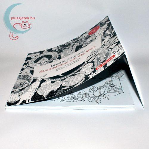 Dream Journey 68 képes felnőtt kifestő, színező könyv borító