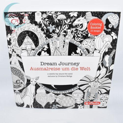 Dream Journey felnőtt színező, kifestő (22 képes) szemből