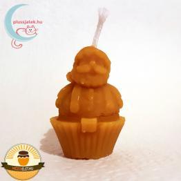 ELMA Mikulás alakú méhviasz gyertya