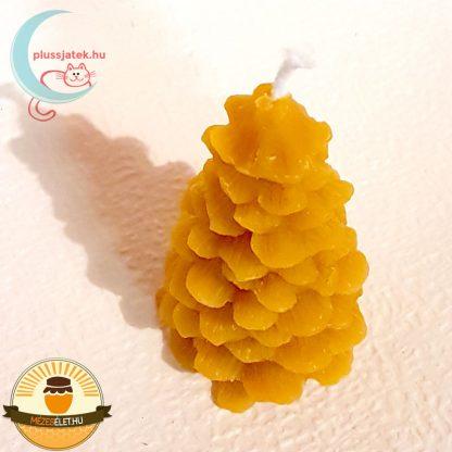 ELMA méhviasz gyertya - fenyő alakú fentről