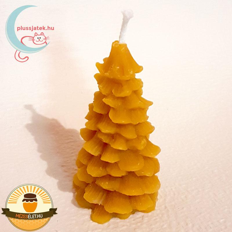 Fenyő (karácsonyfa) alakú méhviasz gyertya