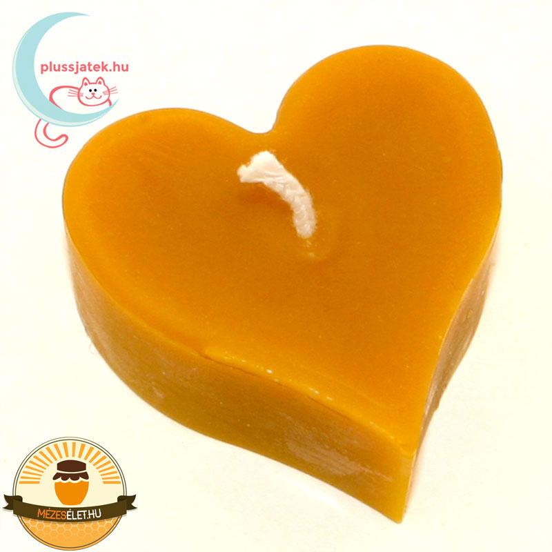 ELMA szív alakú méhviasz gyertya