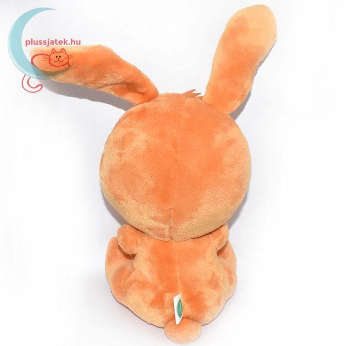 Galenco baby narancssárga plüss nyuszi hátulról