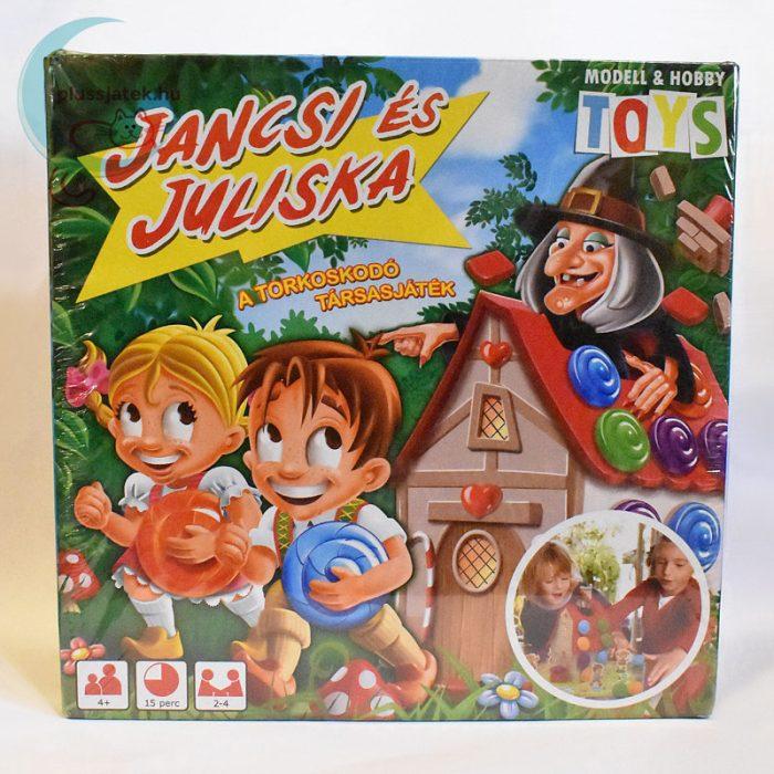 Jancsi és Juliska torkoskodó társasjáték