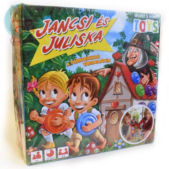 Jancsi és Juliska torkoskodó társasjáték jobbról
