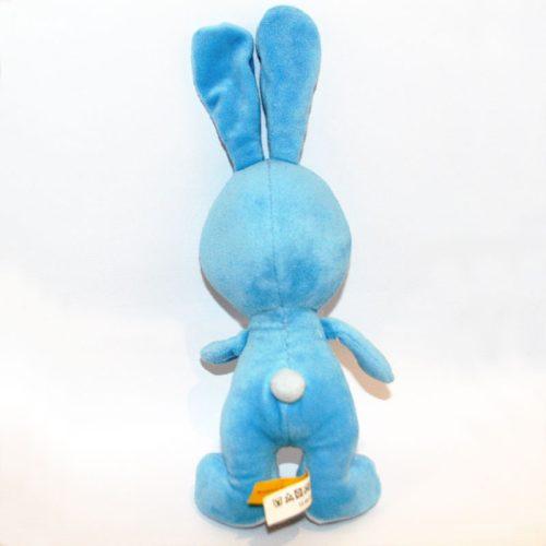 Kikaninchen kék plüss nyuszi hátulról