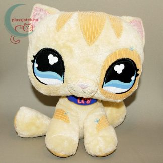 LPS Littlest Pet Shop plüss cica