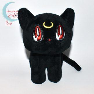 Luna fekete plüss macska (Sailor Moon cica)