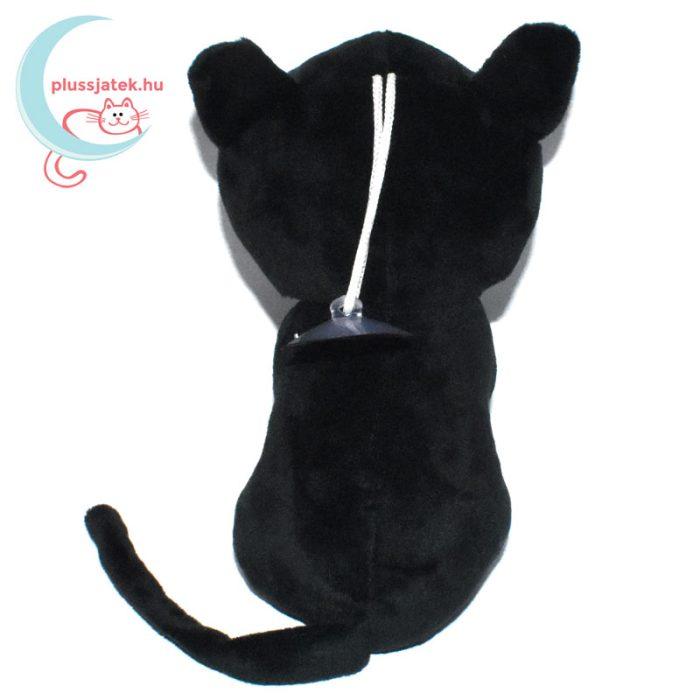 Luna fekete plüss macska (Sailor Moon cica) hátulról