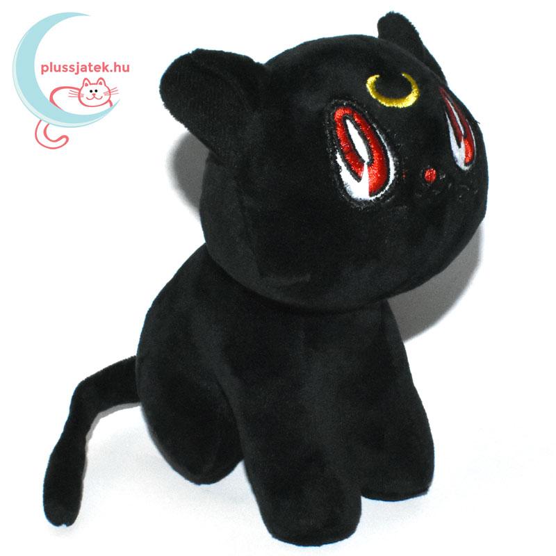 ... Luna fekete plüss macska (Sailor Moon cica) jobbról ... f2660bacb8