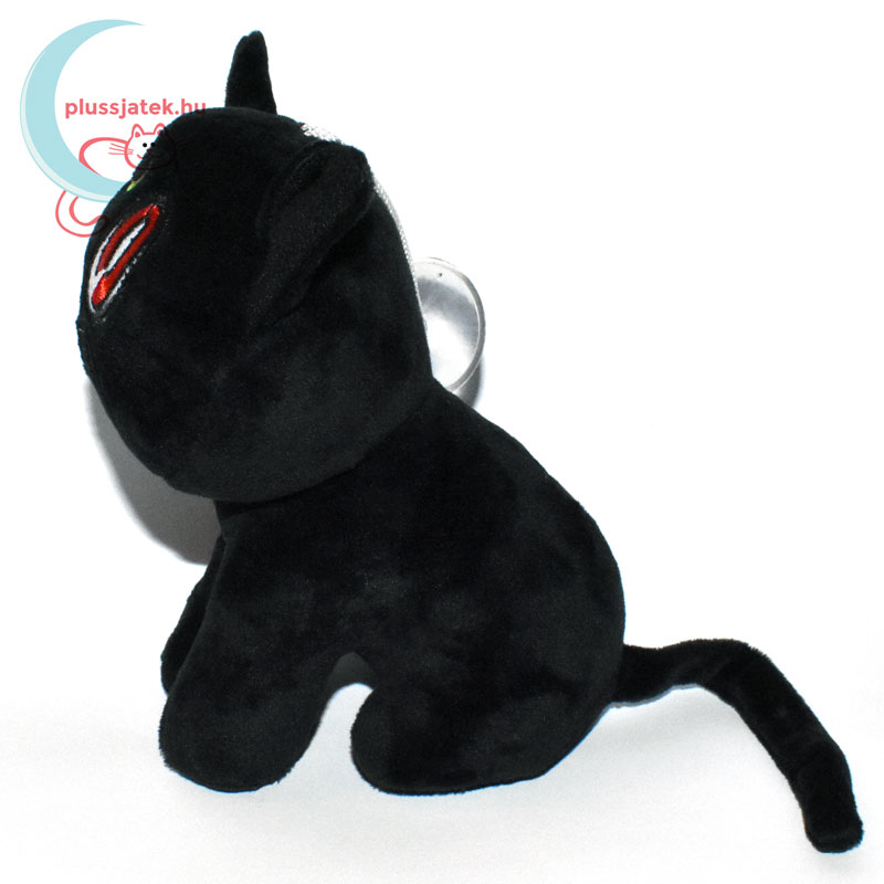 ... Luna fekete plüss macska (Sailor Moon cica) oldalról ... 3afc9198bb