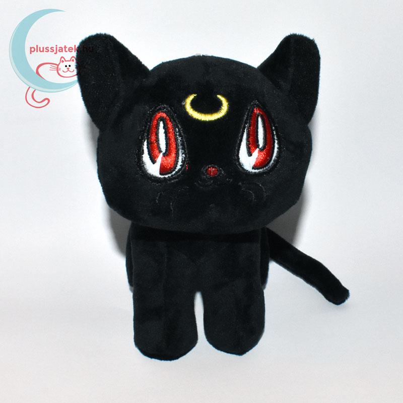 Luna fekete plüss macska (Sailor Moon cica) ... 914dd35784