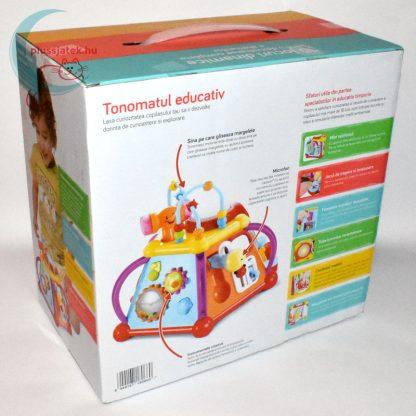 Mappy Toys tevékenységi központ doboza hátulról