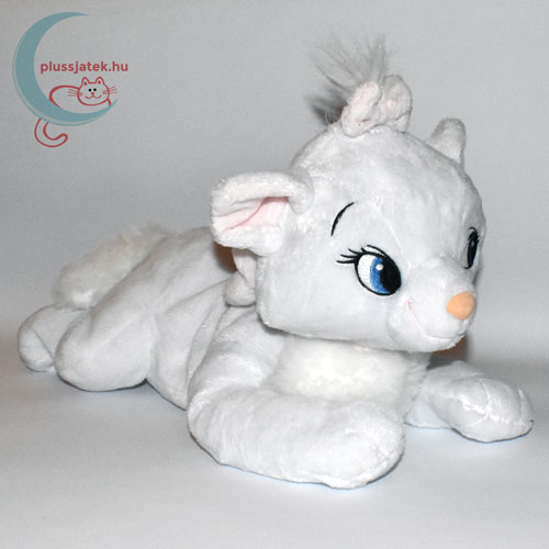 Marie nagy fehér plüss cica (Macskarisztokraták, Disney)