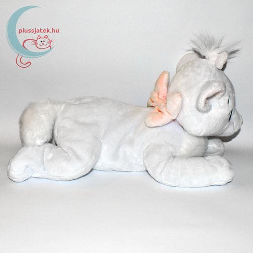 Marie nagy fehér plüss cica (Macskarisztokraták, Disney) oldalról