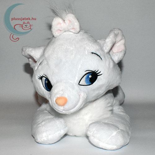 Marie nagy fehér plüss cica (Macskarisztokraták, Disney) szemből