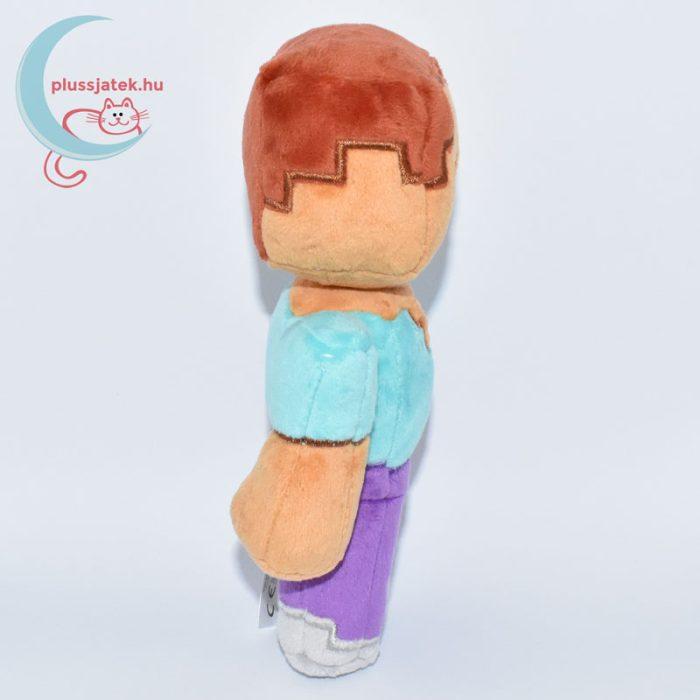 Minecraft Steve plüss oldalról