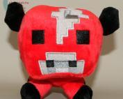 Minecraft piros gombatehén plüss