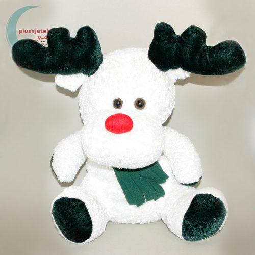 Nagy méretű Rudolf plüss, Télapó rénszarvasa