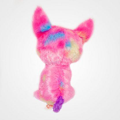 Nagyszemű Ty Beanie Boos Pink Cancun Chihuahua hátulról megint