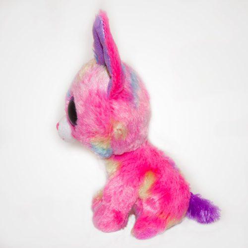 Nagyszemű Ty Beanie Boos Pink Cancun Chihuahua oldalról
