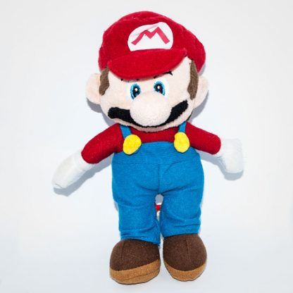 Nintendo Super Maro plüss figura elölről