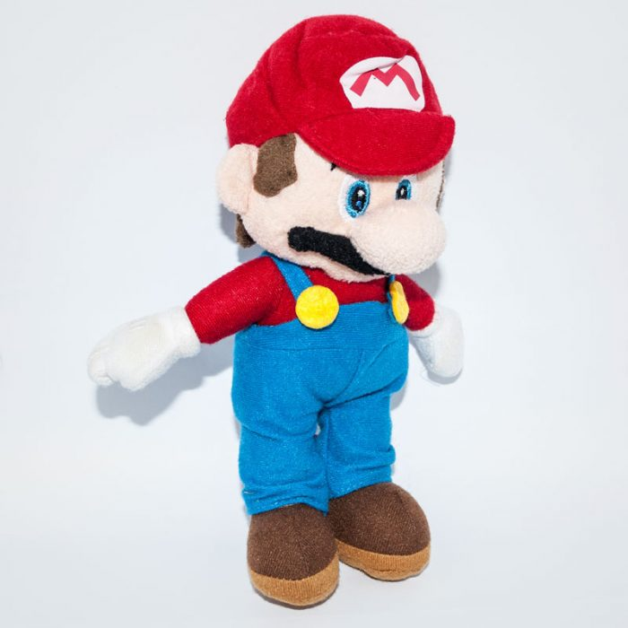 Nintendo Super Maro plüss figura jobbról